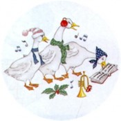 Virma decal 1446-Musical Christmas Ducks