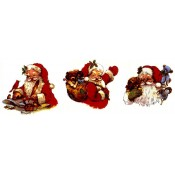 Virma decal 1622 Size C - Santa with Animals/Presents (2 sheets: buy 1, get 1 free!)