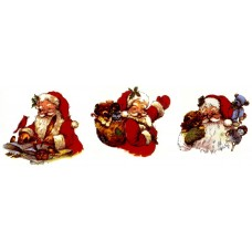 Virma 1622 Size C Santa with Animals/Presents Decal