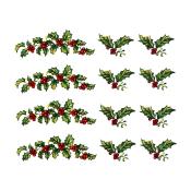 Virma decal 1278 - Christmas Holly