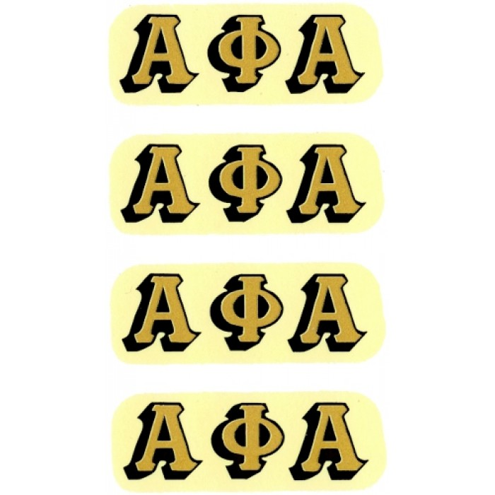 virma 3368 apa alpha phi alpha fraternity letters decal