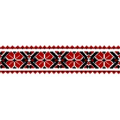 Virma decal 2305 - Red Ukranian Border II
