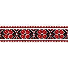 Virma 2305 Red Ukranian Border Decal II