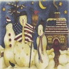 Virma decal AM03-Patriotic Snowmen (Mural)