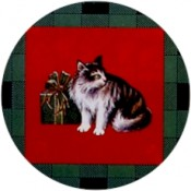 Virma decal 1696 - Christmas Cats
