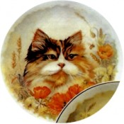 Virma decal 1910-Cats in Flowery Meadow Set