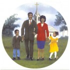 Virma decal 3216- Church Family, Mother, Father, Children