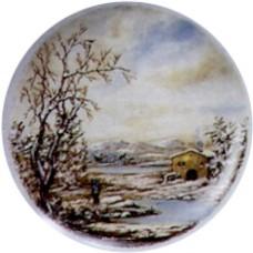 Virma 1860 Winter Scene Decal