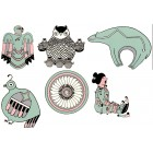 Virma decal 1552- Eskimo Designs