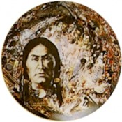 Virma decal 1560-American Indian Portait/mural