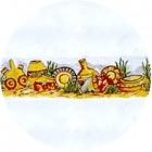 Virma decal 1602- Southwestern Pottery Mug wrap (2 sheets: buy 1, get 1 free!)