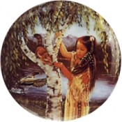Virma decal 3024- American Indian Girl