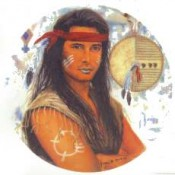 Virma decal 3082- American Indian (Male)