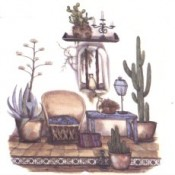 Virma decal 3102 - Southwestern Doorway Scene