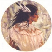 Virma decal 3084 - American Indian (Woman)