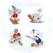 Virma decal 1502-Sports Ducks