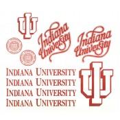 Virma decal 0432- Indiana University
