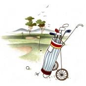 Virma decal 2394 - Golf Design