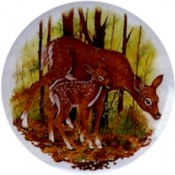 Virma decal 1366-Doe and Fawn 2