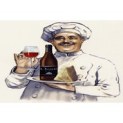 Virma decal 3478-Chef, Wine and Cheese
