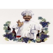 Virma decal 3480-Chef with Wine