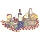 Virma decal 3500-Wine and Cheese tray decal