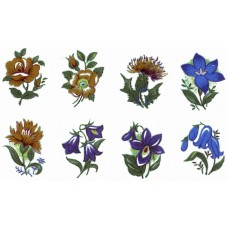 Decal Package 1 - Assorted Flowers (25 sheets)