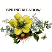 Zembillas decal - Spring Meadow, Yellow Pansy
