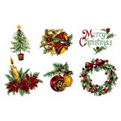 Decal Package - Assorted Christmas (25 sheets)
