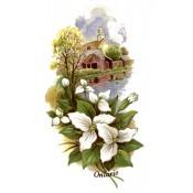 Zembillas decal 0912 - Ontario Canada design, Home and Flower