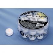 LED Candle Tea Lights - 24 Pack