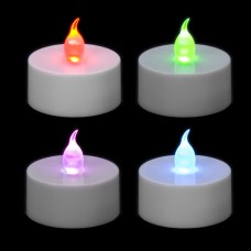Color-Changing LED Tea Light (4 pc.)