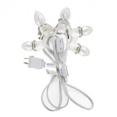5-Light Clip Cord with Switch