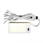 Clear 10-Light Battery Pack - 17""
