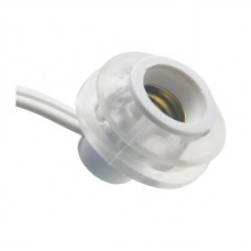 """12"""" Rubber Stopper Pigtail Cord"""