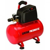 Central Pneumatic Air Compressor & FREE Airbush Kit Assembly