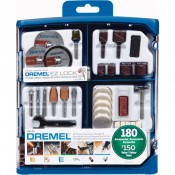 Dremel 180-piece Rotary Accessory Kit