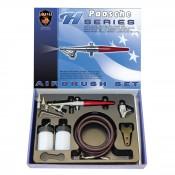Paasche single action airbrush kit H-SET
