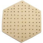 "Eliminator tile - individual 6"" hexagonal stilt"