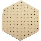 "Eliminator tile - individual 6"" hexagonal stilt"