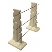 "Large Bead Rack with 12"" long rods"