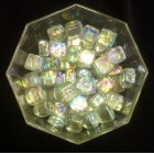 Iridescent Glass Marbles