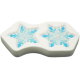 Glass Frit Mold - Snowflakes '13