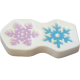 Glass Frit Mold - Snowflakes '14