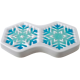 Glass Frit Mold - Snowflakes '16