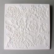 Glass Texture Tile - Succulent