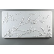 Glass Texture Tile - Cherry Blossoms
