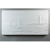 Glass Texture Tile - Sailing