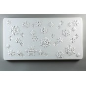 Glass Texture Tile - Snow Flakes