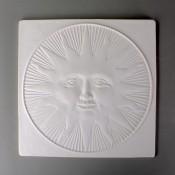Glass Texture Tile - Sun Face